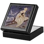 Winter's Snow Queen Keepsake Box