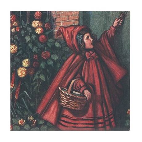 Cole's Red Riding Hood Tile Coaster