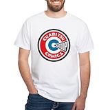Charlton comics Mens White T-shirts