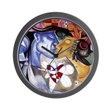 Fragmented Heart Wall Clock