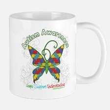 Autism Awareness Hope Butterfly Mug