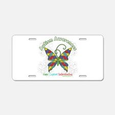 Autism Awareness Hope Butterfly Aluminum License P