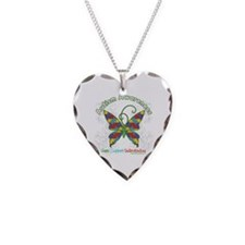 Autism Awareness Hope Butterfly Necklace