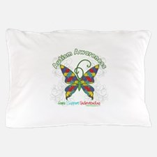 Autism Awareness Hope Butterfly Pillow Case