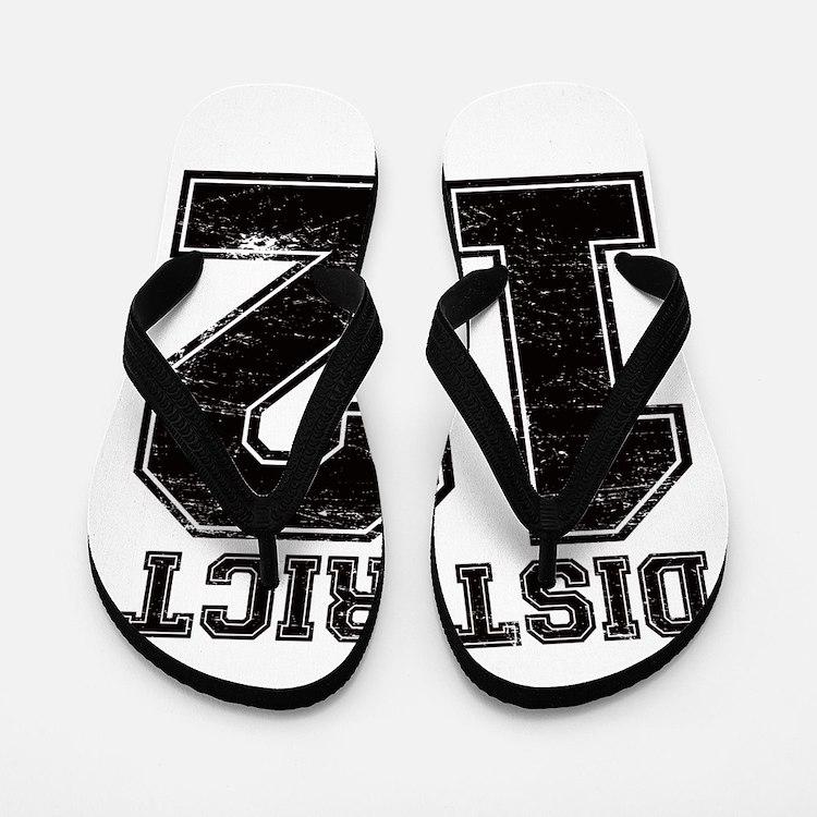 Mellark District 12 Flip Flops