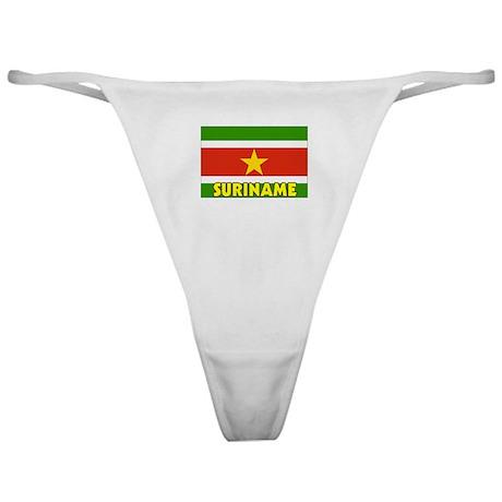 Suriname Flag Classic Thong