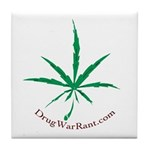 Marijuana Tile Coaster