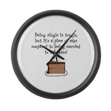Funny Angry Large Wall Clock