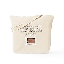 Cute Single women Tote Bag