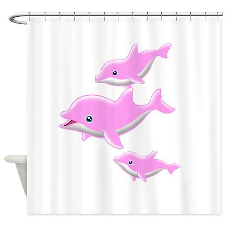 I Like Dolphin(1) Shower Curtain