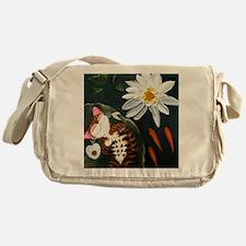Lotus Lullaby Messenger Bag