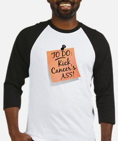 To Do 1 Uterine Cancer Baseball Jersey