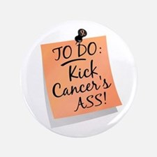 "To Do 1 Uterine Cancer 3.5"" Button"