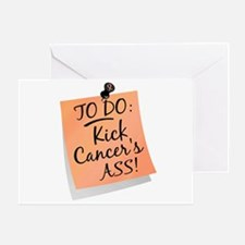 To Do 1 Uterine Cancer Greeting Card