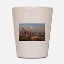 Cute Seattle space needle Shot Glass