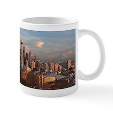 Unique Seattle skyline Mug