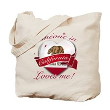 California Heart Designs Tote Bag