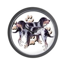 best friends coonhound Wall Clock