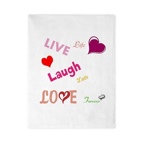 live laugh love Twin Duvet