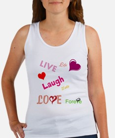 live laugh love Women's Tank Top