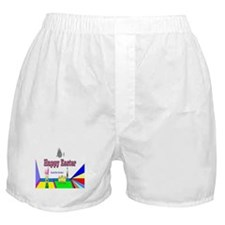 Easter Candy Chocolate Boxer Shorts