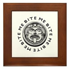 Mayan Bite Me Framed Tile