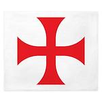 Knights Templar King Duvet