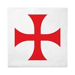 Knights Templar Queen Duvet