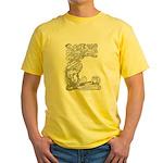 Abbott's Mermaids Yellow T-Shirt