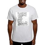 Abbott's Mermaids Ash Grey T-Shirt