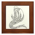 Abbott's Mermaids Framed Tile