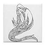 Abbott's Mermaids Tile Coaster