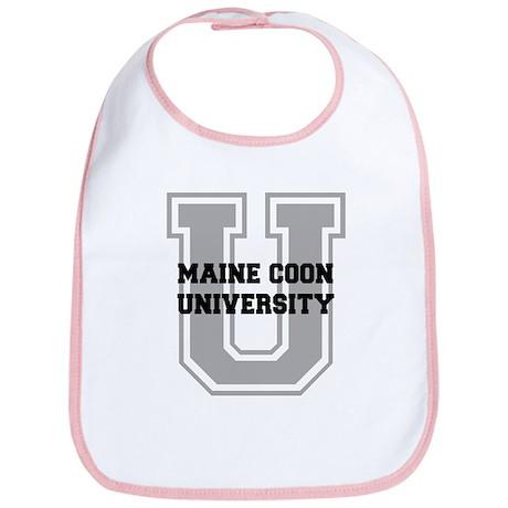 Maine Coon UNIVERSITY Bib
