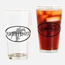 Hunter Jumper Drinking Glass