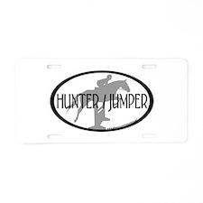 Hunter Jumper Aluminum License Plate