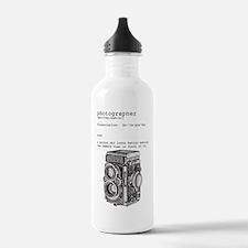 Definition & vintage camera 4 Water Bottle