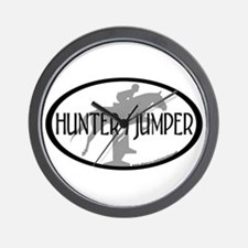 Hunter Jumper Wall Clock