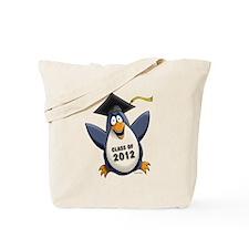 2012 Graduate Penguin Tote Bag