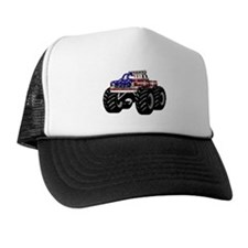 AMERICAN MONSTER TRUCK Trucker Hat