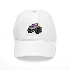 AMERICAN MONSTER TRUCK Baseball Cap