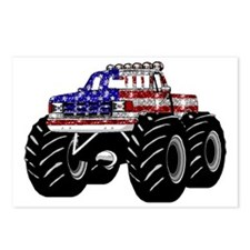 AMERICAN MONSTER TRUCK Postcards (Package of 8)