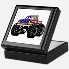 AMERICAN MONSTER TRUCK Keepsake Box