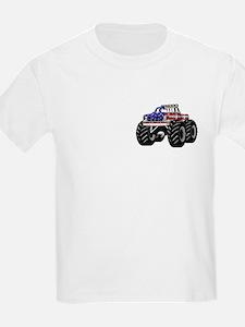 AMERICAN MONSTER TRUCK Kids T-Shirt