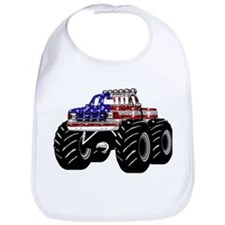 AMERICAN MONSTER TRUCK Bib