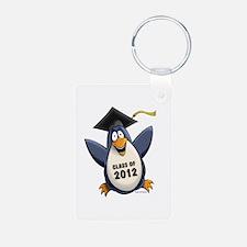 2012 Graduate Penguin Keychains