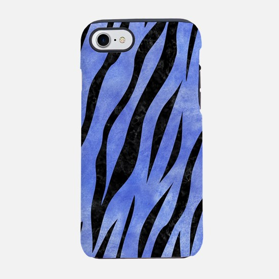 SKIN3 BLACK MARBLE & BLUE WATE iPhone 7 Tough Case