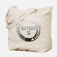 District 12 With Heart Tote Bag