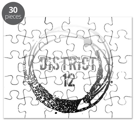 District 12 With Heart Puzzle