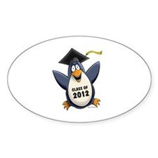 2012 Graduate Penguin Decal