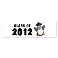 2012 Graduate Penguin Bumper Sticker